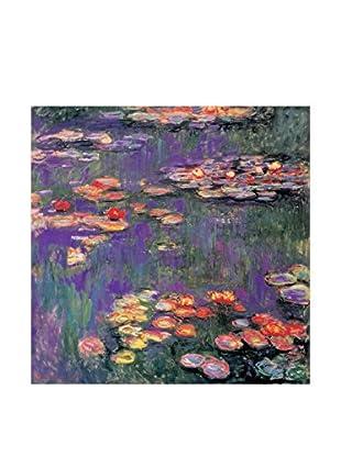 ARTOPWEB Wandbild Monet White Purple Water Lillies 9809