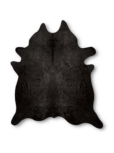 Natural Geneva Cowhide Rug (Black)