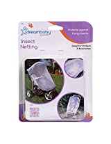 Dreambaby Stroller Insect Netting (White)