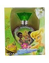 Disney Tinkerbell Fairies Eau de Toilette Spray for Women 3.4 Ounce