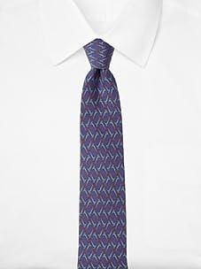 Hermès Men's Instruments Tie, Purple, One Size