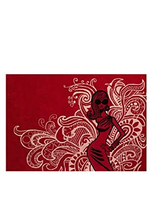 DAC Alfombra Psycodelic Glam Pigalle 170 x 240 cm, diseñada por Jordi Labanda