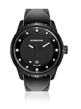 K&BROS Reloj 9454 (Negro Blanco)