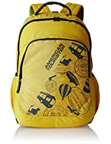 American Tourister Yellow Casual Backpack (69W (0) 06 001)