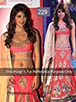 Bollywood Replica Priyanka Chopra Net and Raw Silk Lehenga In Pink Colour NC303