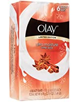 Olay Sheer Moisture Soap Bar Soap, Mandarin Blossom, 6 ct