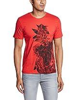 Johnny Bravo Men's Cotton T-Shirt
