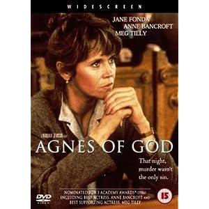 agnes of god  dvd   import