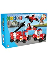 Clics,Hero Squad Fire Brigade Box(Red)