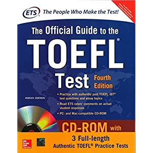 The Official Guide to the TOEFL Test With CD-ROM, 4th Edition