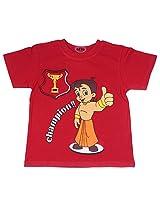 Chhota Bheem Boys T-Shirt (GGAPP-CB252A - Yellow_2-3 years)