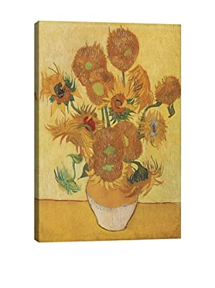 Vincent Van Gogh's Sunflowers (1888) Giclée Canvas Print