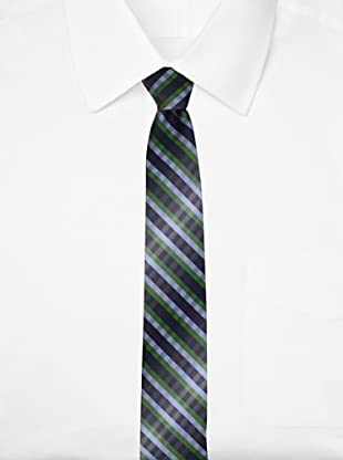 Ben Sherman Men's Benjamin Wardrobe Tie, Green