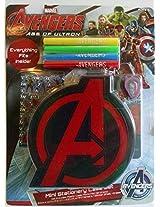 Marvel Avengers Age Of Ultron Mini Stationery Case Set