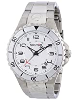 Sector Analog White Dial Men's Watch - R3253111045