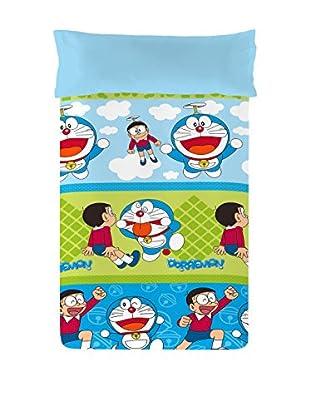 Euromoda Licencias Juego de Funda Nórdica  Doraemon & Nobita