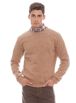 Gant Jersey Liso Redondo (marrón)