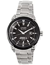 Citizen Eco-Drive Analog Black Dial Men's Watch BM5005-69E