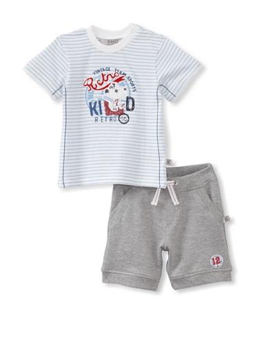 KANZ Baby 2-Piece Tee & Shorts Set (Stripe)