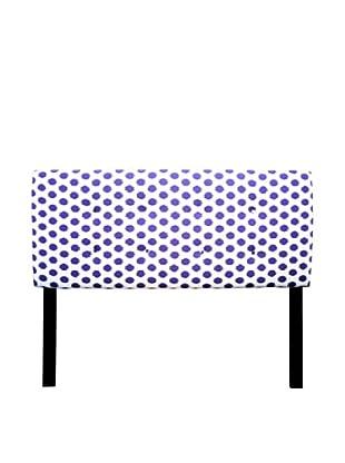 Sole Designs 8-Button Tufted Jojo Headboard (Purple/White)