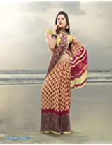 Triveni Chiffon Saree (TSSM837a_Multi)