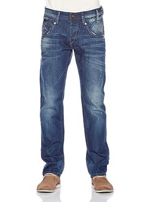 Fuga Pantalone Riewert Straight (Blu)