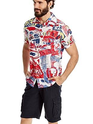 Desigual Camisa Hombre Hielo Rep