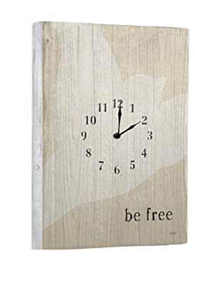 Be Free Reclaimed Wood Clock