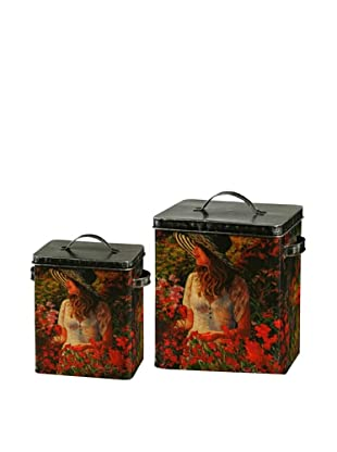 Winward Set of 2 Garden Canisters