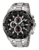 CASIO EDIFICE EF-539D-1AVDF BLACK DIAL SPORTS CHRONOGRAPH MENS WATCH