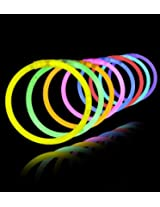 Glow Sticks Band (100pc) Premium Lumistick Glow Stick Bracelets Assorted Colors