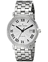 Claude Bernard Analogue Silver Dial Men's Watch - 80085 3 AR