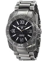 Swiss Legend Men's 10059-GM-104 Commander Grey Textured Dial Stainless Steel Watch