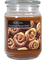 Candle-lite Essentials 18-Ounce Cinnamon Pecan Swirl Terrace Jar Candle