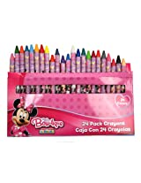 Minnie Bowtique 24pk Crayons