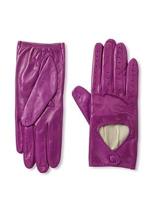 Portolano Women's Silk-Lined Driving Gloves (clover)