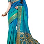 Saree With blouse piece