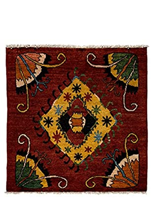 Darya Rugs One-of-a-Kind Tribal Rug, Red, 5' 4