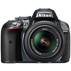 Nikon D5300 DSLR (With AF-S 18-55mm VR Kit Lens) (Black)