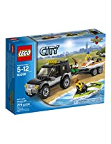 Lego City Great Vehicles 60058 - SUV With Watercraft