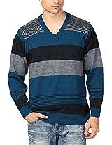 Aarbee Men's Sweater (LW55580_$P, XL)