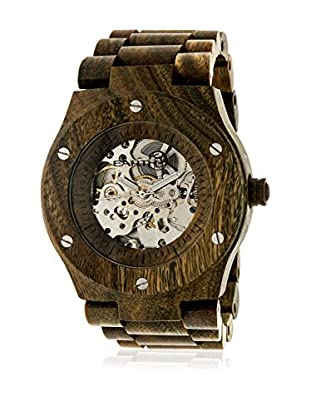 Earth Reloj de cuarzo Unisex Grand Mesa Oliva 44 mm