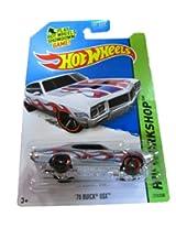 Mattel Hot Wheels - 2014 Hw Workshop 215/250 - Heat Fleet - 70 Buick Gsx (Metallic Silver)