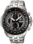 Casio Chronograph Black Dial Men's Watch - ED436