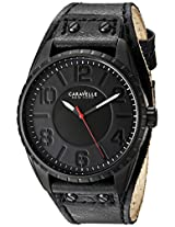 Caravelle New York  Sport Analog Black Dial Men's Watch - 45B125