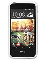 Qmadix Flex Gel Cover HTC Desire 612 - Retail Packaging - White