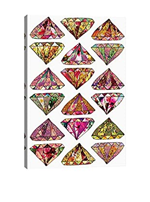 Bianca Green These Diamonds Are Forever Canvas Print