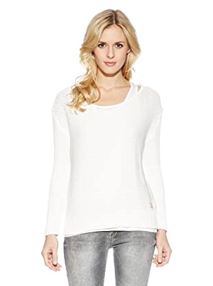 Cross Jeans Dos en Uno Jersey+Camiseta (Blanco)
