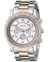 Breda Women's 2326-TTrosegold Jordan Oversized Boyfriend Watch