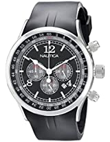 Nautica Chronograph Black Dial Men's Watch - N13530G